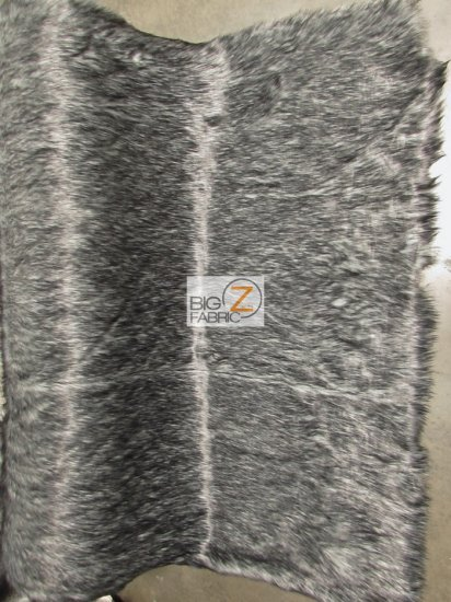 Faux Fake Fur Arctic Alaskan Husky Long Pile Fabric / Purple / Sold By The Yard/EcoshagTM