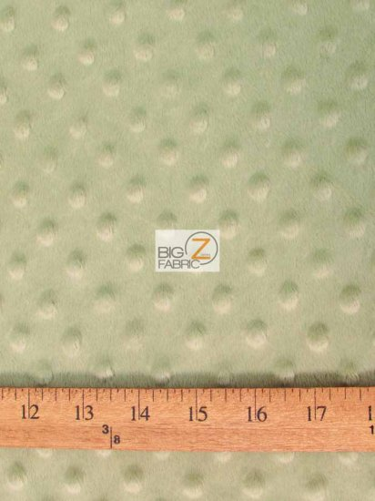 Minky Dimple Dot Baby Soft Fabric / Charcoal / Sold By The Yard