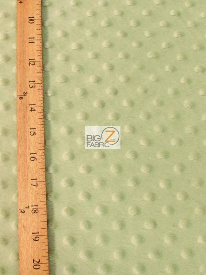 Minky Dimple Dot Baby Soft Fabric / Camel / Sold By The Yard