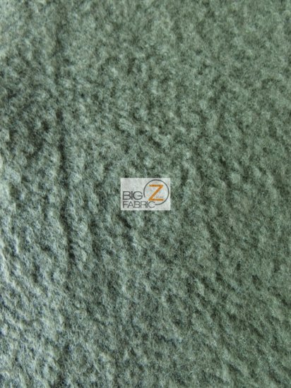 Fleece Fabric Solid / Forest Green / Sold By The Yard