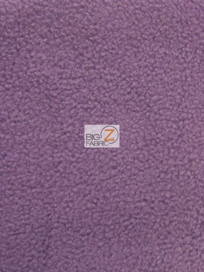 Fleece Fabric Solid / Violet / Sold By The Yard