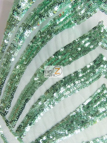 Goldeneye Diamond Sequins Dress Fabric / Mint / Sold By The Yard