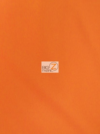 Solid Canvas Outdoor Anti-UV Waterproof Fabric / Orange / 20 Yard Roll