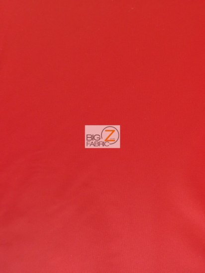 Solid Canvas Outdoor Anti-UV Waterproof Fabric / Red / 60 Yard Roll