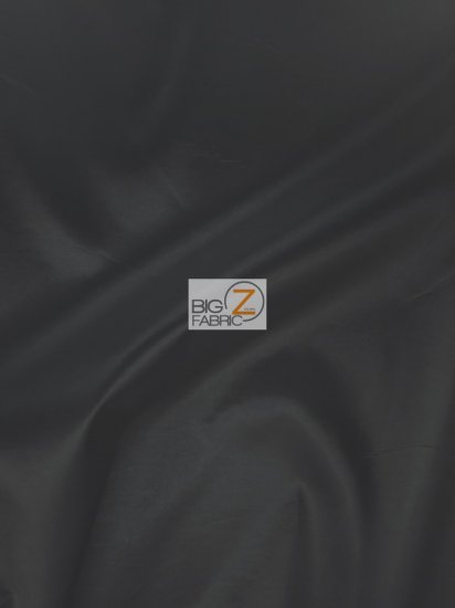 "Solid Polyester Taffeta 58""/60"" Fabric / Black / Sold By The Yard"