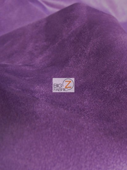 Microfiber Suede Upholstery Fabric / Sky Blue / Passion Suede Microsuede