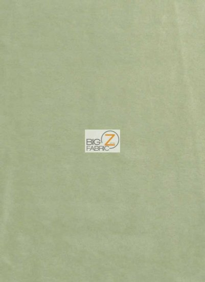 Minky Solid Baby Soft Fabric / Asparagus / Sold By The Yard/Hug-ZTM