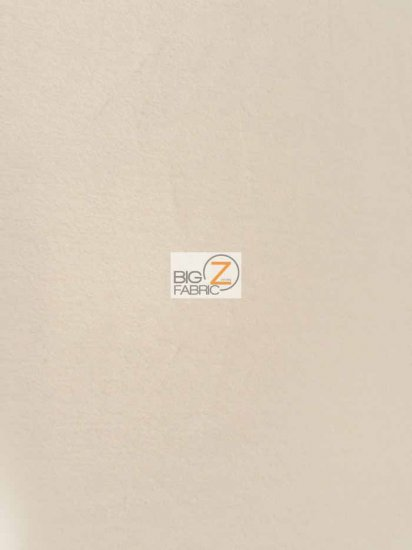 Minky Solid Baby Soft Fabric / Ivory / Sold By The Yard/Hug-ZTM
