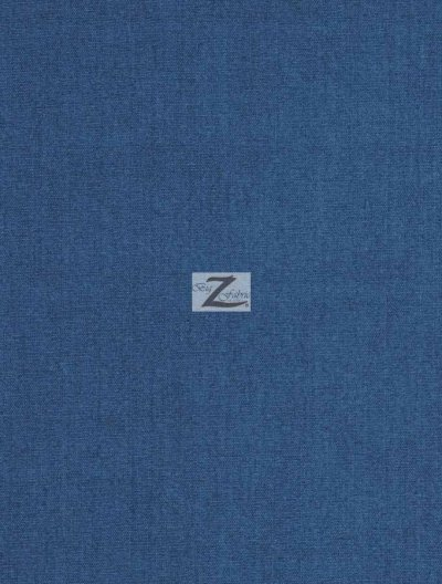 Solid Premium Linen Fabric / Royal Light / Sold By The Yard