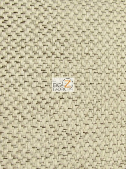 Vintage Lattice Textured Upholstery Fabric / Pebble / Sold By The Yard