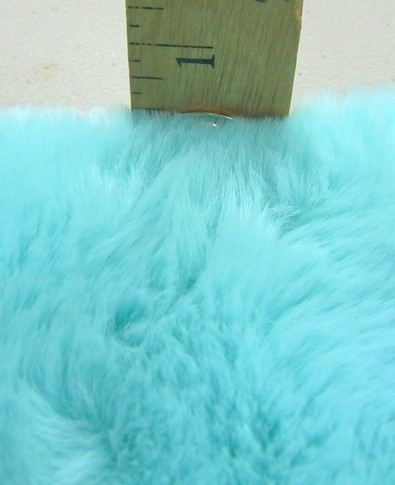 Half Shag Faux Fur Fabric (Beaver) / White / Sold By The Yard/EcoShagTM