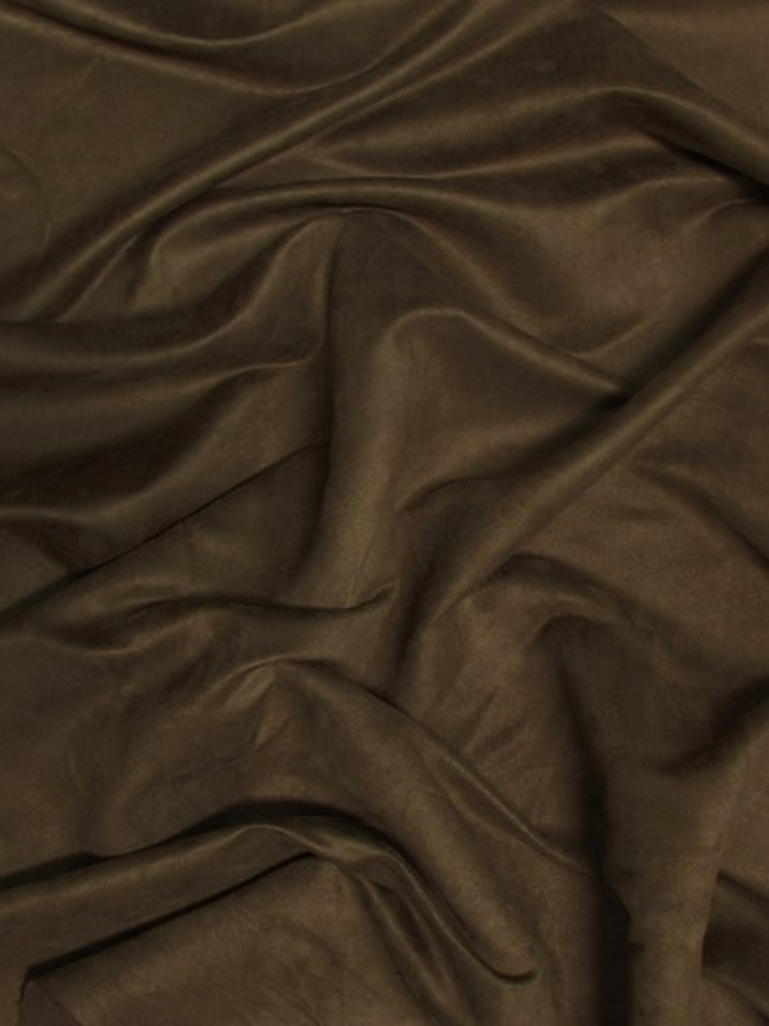 Microfiber Suede Upholstery Fabric / Cafe / Passion Suede Microsuede/DuroLastTM
