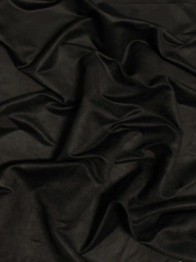 Microfiber Suede Upholstery Fabric / Black / Passion Suede Microsuede/DuroLastTM