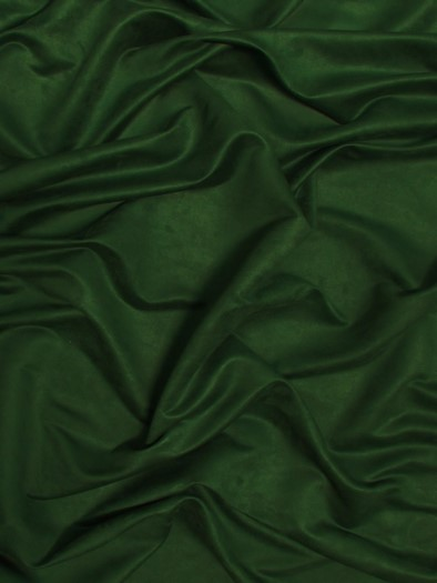 Microfiber Suede Upholstery Fabric / Hunter Green / Passion Suede Microsuede/DuroLastTM